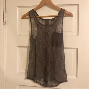 Urban Outfitters Lace Tank Top